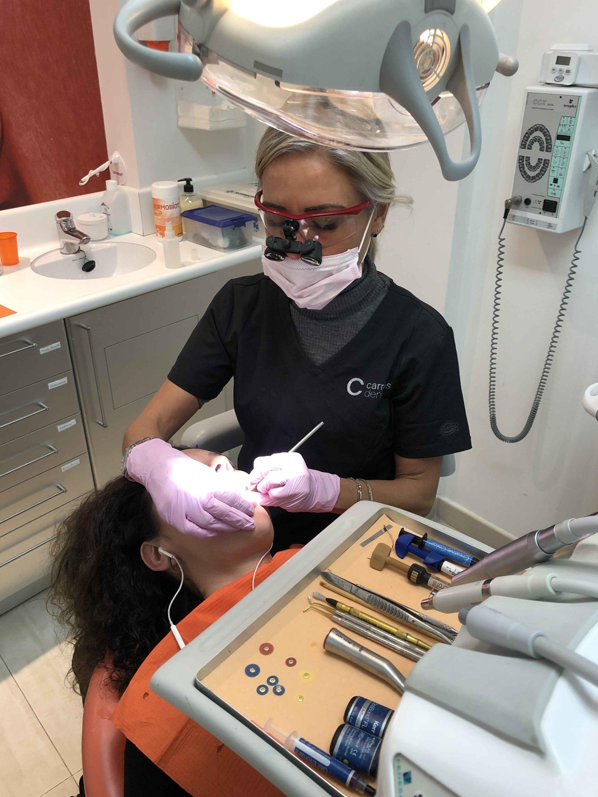 Estètica dental sense dolor - Carreras Dental - Terrassa