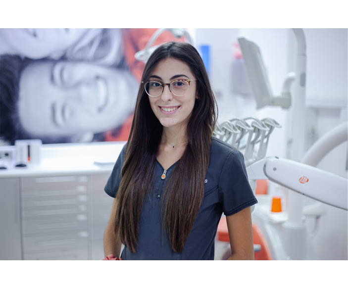 Andrea Pérez - Carreras Dental Terrassa